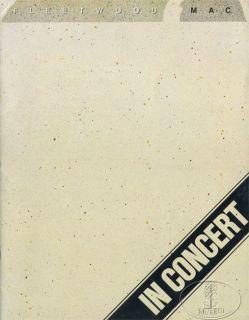FLEETWOOD MAC 1979 TUSK Tour Concert Program Book