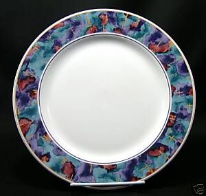 Chop Plate Platter Sango China Spring Jewel 4819