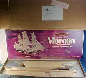 Scientific Charles w Morgan Wood SHIP Model Kit