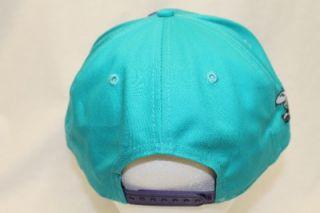 Charlotte Hornets NBA New Era 9Fifty Snapback Hat Cap Big Punch Teal