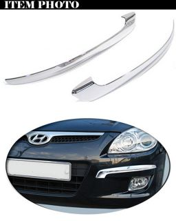 Front Chrome Bumper Molding Cover for 08 11 Hyundai I30