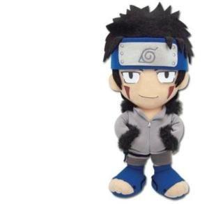 Naruto Kiba Inuzuka Chibi Plush Stuffed Doll Anime New