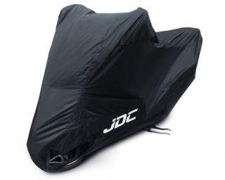 JDC Motorcycle motorbike Waterproof Cover Black Rain