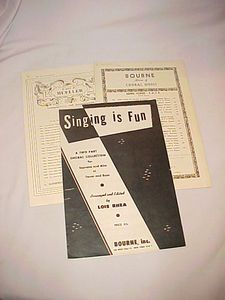 Music Songs Piano Sheet Music Books Choral Music Tunes for Teens Etc