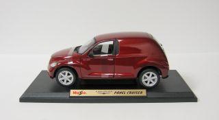 Chrysler Panel Cruiser Diecast Model Car 1 18 Scale Maisto Red