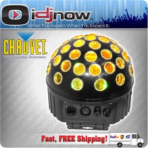 Chauvet Lighting Minisphere 3 Rotating LED RGB Strobing DJ Light