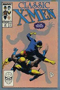 Classic X Men 33 1989 Chris Claremont John Byrne Marvel Comics j
