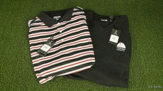 NEW w/Tags PING Golf Polo Shirt and Sweater Vest Combo   Mens Large