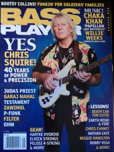 Bass Player Magazine January 2009 Chris Squire Mint