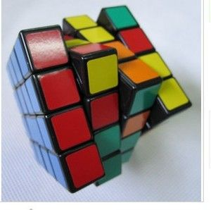 4x4x4 Magic Rubik Rubix Rubiks Cube Kids Puzzle Game Q