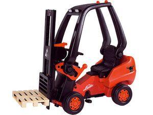 Linde Forklift Kids Ride on Toy Pedal Car Childrens New