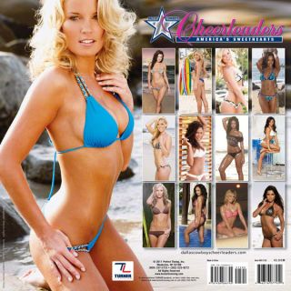 Cowboys Cheerleaders 2012 Calendar 12x12 Team Wall Calendar