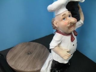 is for a new line of Italian French fat chef paper towel holder