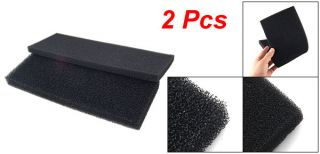 Pcs Aquarium Fish Tank Biochemical Filter Black Bio Sponge Pads