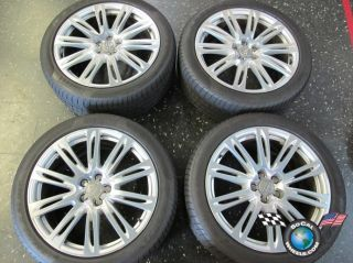 12 Audi A8 Factory 20 Wheels Tires Rims 265 40 20 Pirelli Pzero