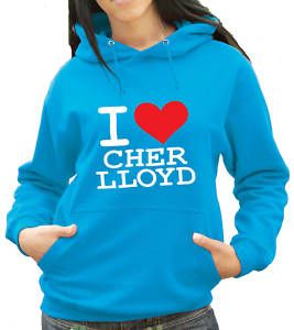 Love Cher Lloyd Hoody x Factor Any Colour 1143