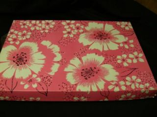 Vintage 50s His Hers Pink Guest Hand Towel Wash Cloth Set Bridal Gift