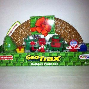 Geo Trax Holiday Train Set Christmas One Loop Track w DVD TRU