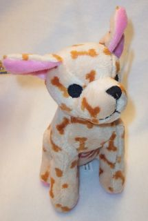 Barking Chihuahua Plush Dog Toy Pet Toys Puppy Cute Tan