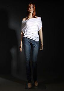 322434 Female Durable Plastic Mannequin Cheryl F7