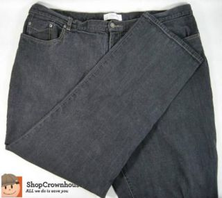 Womens Christopher Banks Charcoal Plus Stretch Jeans Easy Fit Sz 20W