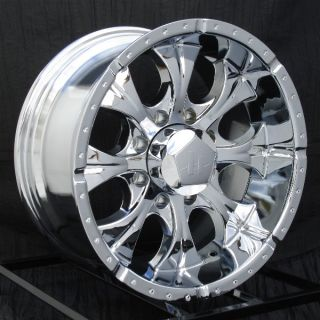 16 inch Chrome Wheels Rims Chevy HD Dodge RAM 8 Lug