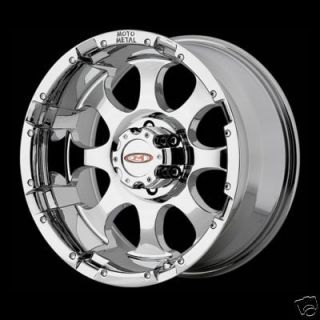 16 Inch MO955 CHROME RIMS 8 Lug Wheel Chevy GMC 2500 HD Truck 8x6 5