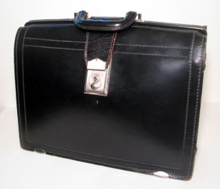 Vintage Lawyers Briefcase Satchel Bag Pedros Luggage Leather St Paul