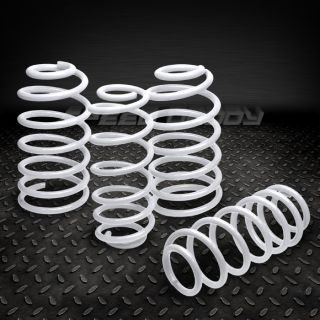 SUSPENSION LOWERING SPRINGS/SPRING 93 02 CHEVY CAMARO/FIREBIRD WHITE