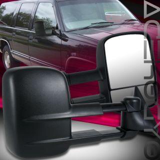 GMC Yukon Suburban Chevy C K 1500 2500 3500 C10 Towing Mirrors 88 90