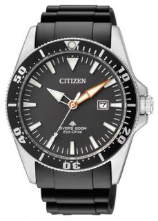 CITIZEN EXCALIBUR PROMASTER ECO DRIVE 200M ISO CERT. DIVERS WATCH