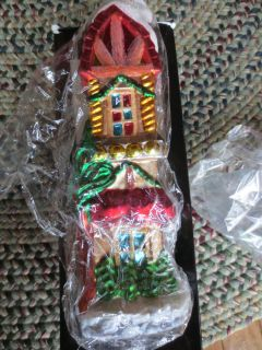 1998 Christopher Radko 11 Sugar Hill Christmas Ornament Limited