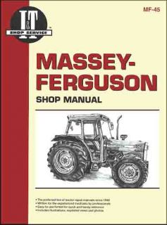 Massey Ferguson Tractor Shop Manual MF362 MF365 MF375 MF383 MF390