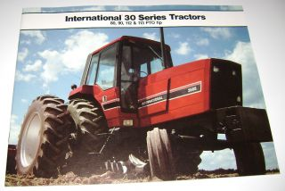 IH International 30 Series Tractors Sales Brochure 3088 3288 3488 3688