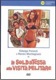 Visita Militare Nando Cicero PAL R2 DVD Edwige Fenech Italian