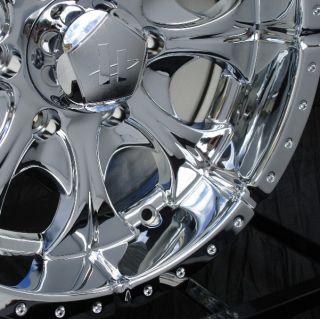 16 inch Chrome Wheels Rims Chevy GMC 6 Lug Truck Helo