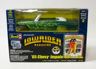 1965 Chevrolet Impala SS Lowrider Model Car Kit   Revell 1:24 Scale