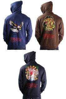 Ed Hardy Christian Audigier Mens Hoodie Sweatshirt Tattoo