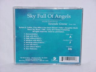 Taranda Greene Sky Full of Angels New Accompaniment CD