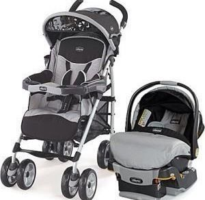Chicco Trevi KeyFit 30 Travel System Romantic Stroller Plus Car Seat