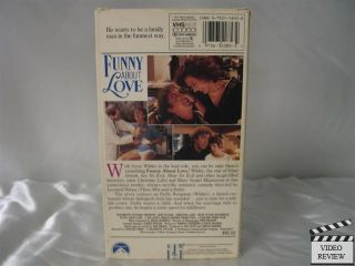 Funny About Love VHS Gene Wilder Christine Lahti 097363208532