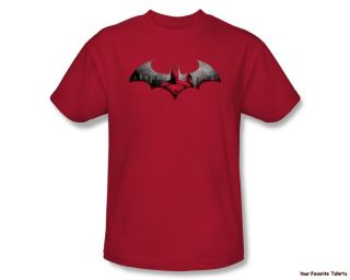 Licensed Batman Arkham City in The City Adult Shirt