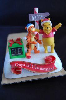 Tigger Pooh Talking Countdown to Christmas Clock