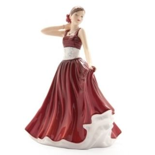 Royal Doulton Pretty Ladies Petite Figurine MIA Brand New