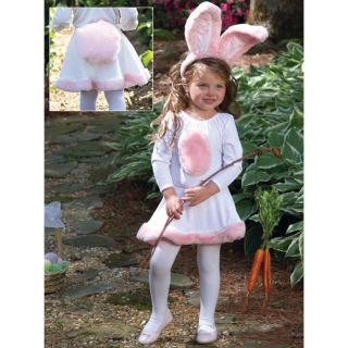 Cute Little Girls Toddler Child Bunny Dress N Ears Outfit Costume 18