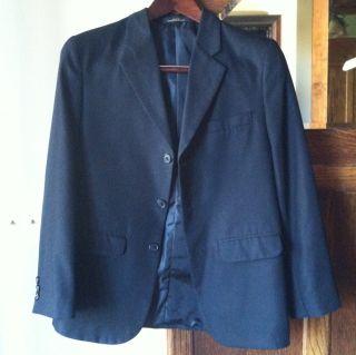 Dillards Class Club Boys Black Suit Blazer 3 Button Jacket and Pants