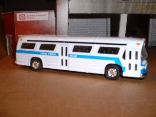 Classic Toy City Bus New York Fishbowl Approx 1 72
