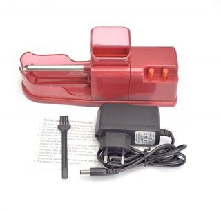 NEW Electric Cigarette Rolling Machine Roller DIY Tobacco Maker RED