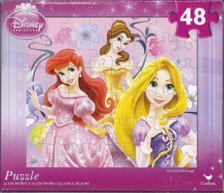 48 Piece Disney Princess Kids Puzzle 2 New