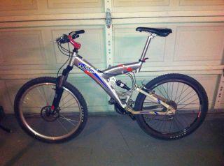 Full Suspension Mountain MTB bike Claud Butler UK